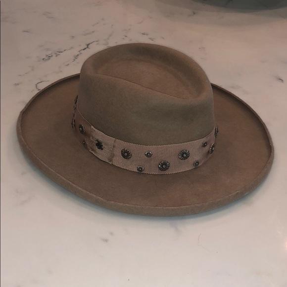 The Kooples Wool Flat Brimmed Hat. M 5bedbaea5c4452934f7b689f b298def1b31